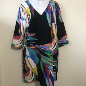 NWT Trina Turk Esteem Multicolored Dress SZ 10